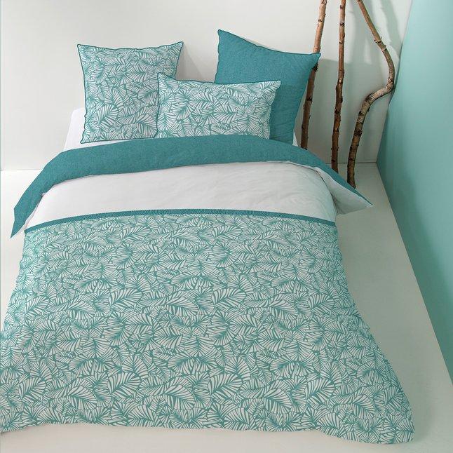 matt rose housse de couette tendance oasis coton 260 x. Black Bedroom Furniture Sets. Home Design Ideas