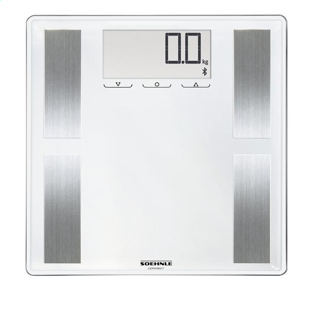 Image pour Soehnle Pèse-personne/impédancemètre Shape Sense Connect 100 blanc/inox à partir de ColliShop