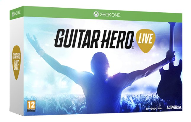 Image pour XBOX One Guitar Hero Live + manette guitare FR à partir de ColliShop