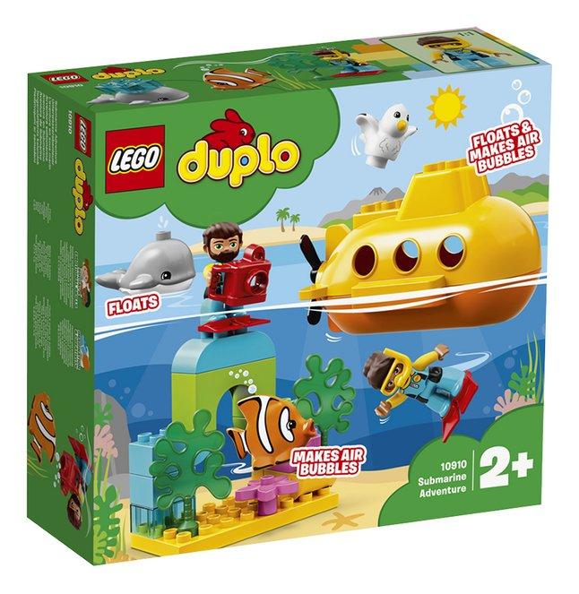 Image pour LEGO DUPLO 10910 L'aventure en sous-marin à partir de ColliShop