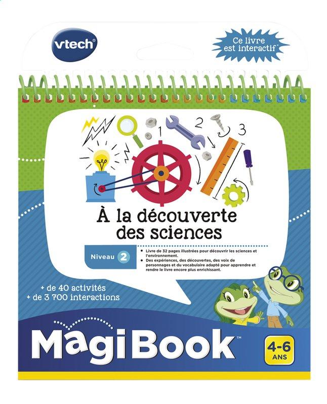 VTech MagiBook livre éducatif - Niveau 2 - À la découverte des sciences