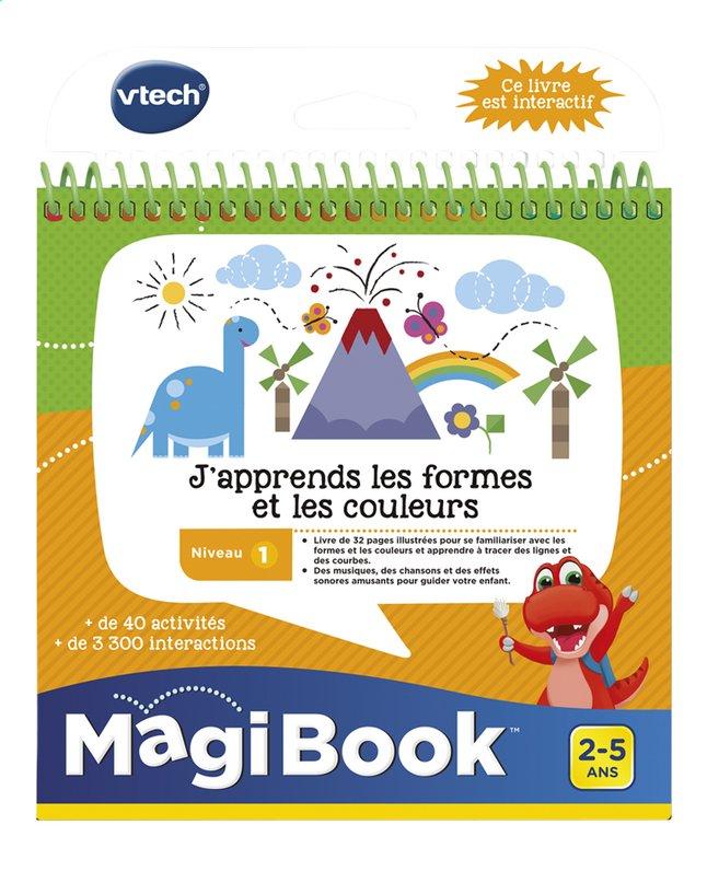 VTech MagiBook livre éducatif - Niveau 1 - J'apprends les formes et les couleurs