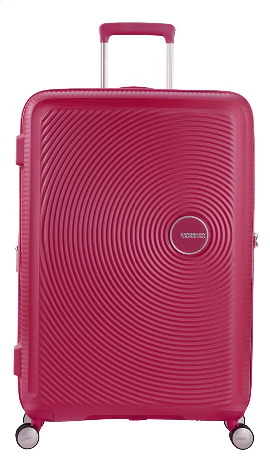 Afbeelding van American Tourister Harde reistrolley Soundbox Spinner EXP lightning pink 67 cm from ColliShop