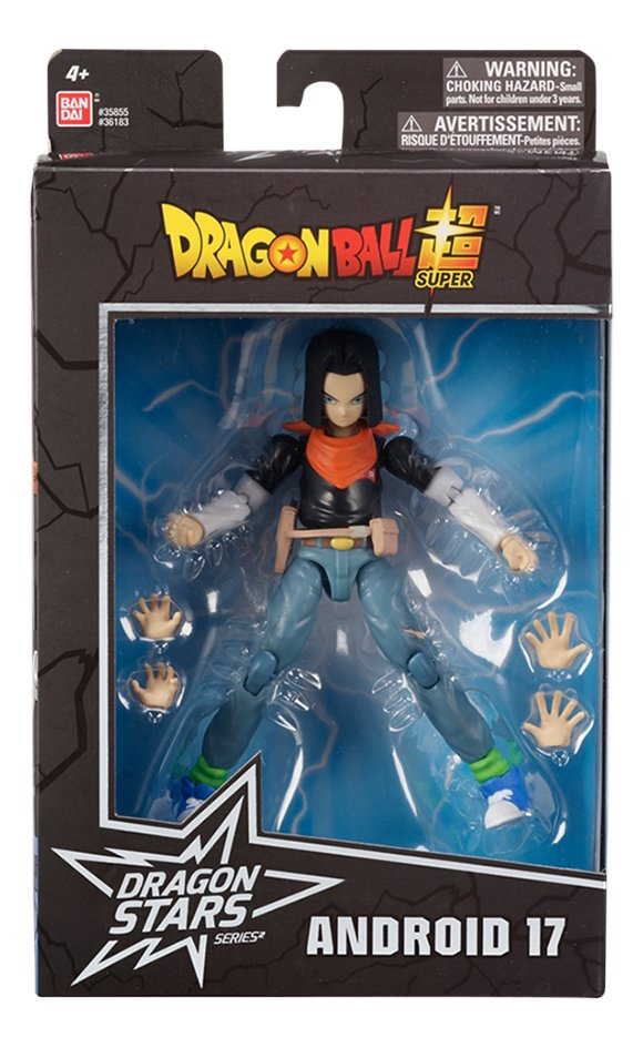 Afbeelding van Dragon Ball actiefiguur Android 17 from ColliShop