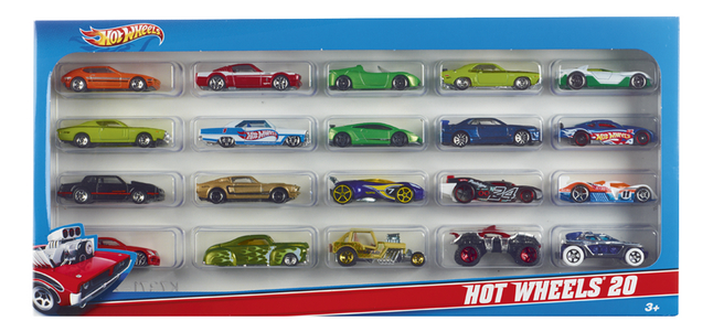 Image pour Hot Wheels 20 voitures à partir de ColliShop