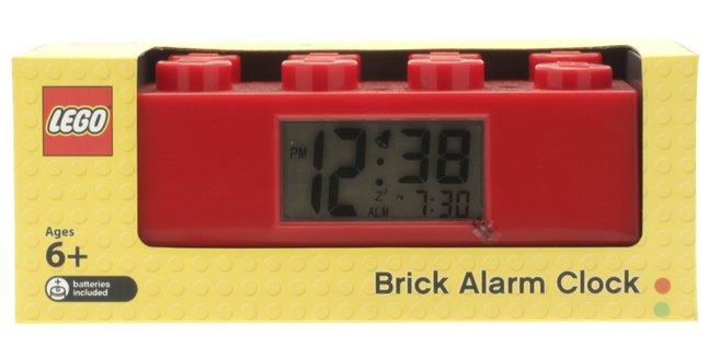 Afbeelding van LEGO Brick wekker rood from ColliShop