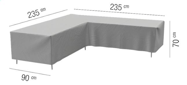 Image pour AquaShield housse de protection pour ensemble lounge L 235 x Lg 90 x H 70 cm polyester à partir de ColliShop