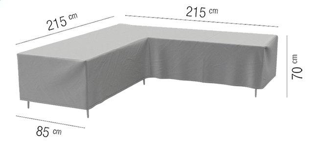 Image pour AquaShield housse de protection pour ensemble lounge L 215 x Lg 85 x H 70 cm polyester à partir de ColliShop