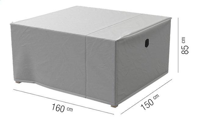 AquaShield housse de protection pour ensemble de jardin L 160 x Lg 150 x H 85 cm polyester