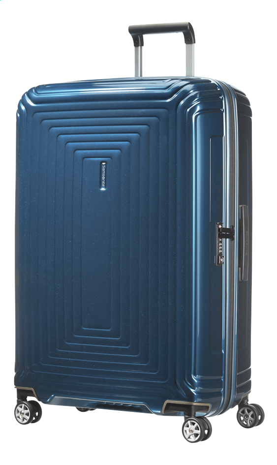 Image pour Samsonite Valise rigide Neopulse Spinner metallic blue 75 cm à partir de ColliShop