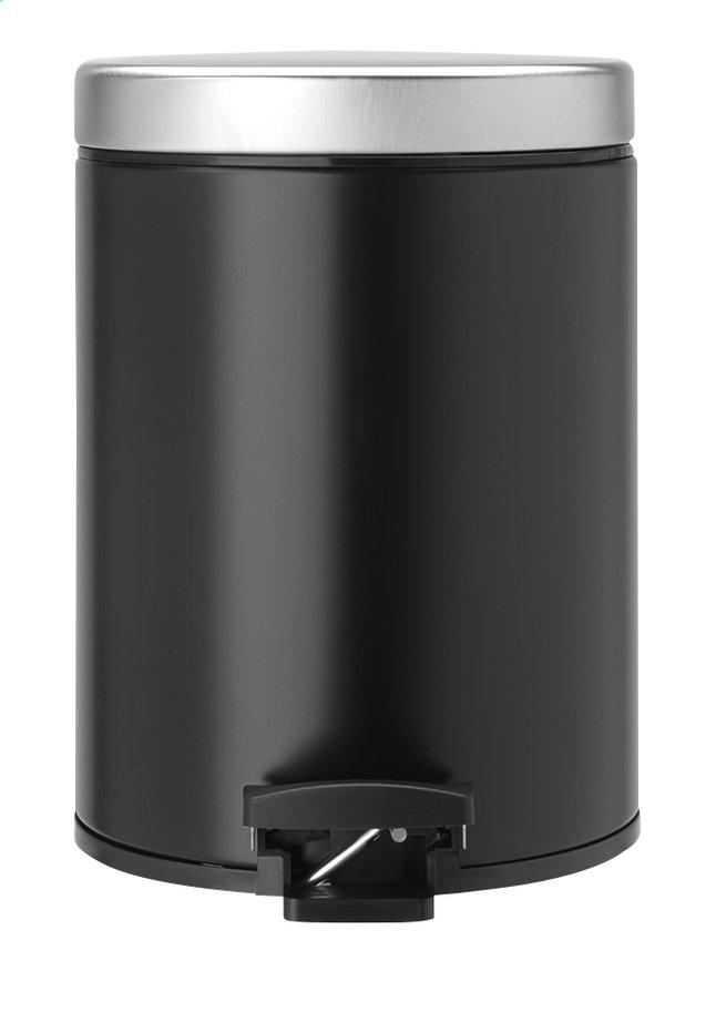 Image pour Brabantia Poubelle à pédale matt black 5 l à partir de ColliShop