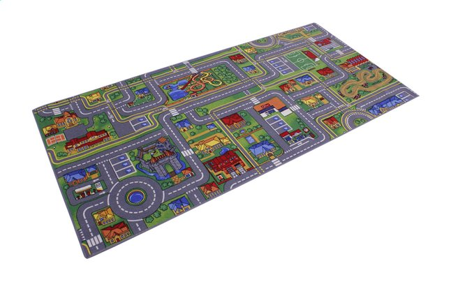 Afbeelding van DreamLand verkeerstapijt Play City 95 x 200 cm from ColliShop
