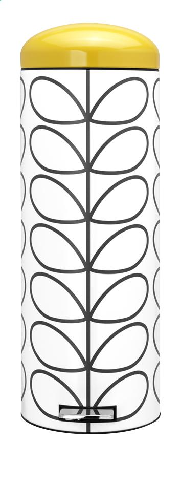 Image pour Brabantia Poubelle à pédale Retro Bin orla kiely cream 20 l à partir de ColliShop