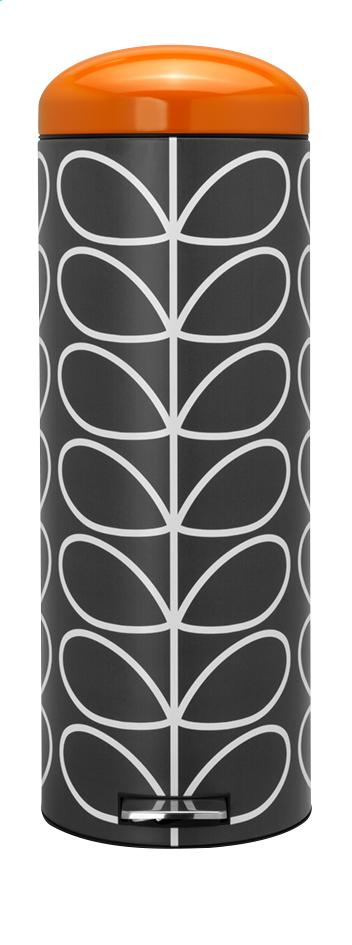 Image pour Brabantia Poubelle à pédale Retro Bin orla kiely charcoal 20 l à partir de ColliShop