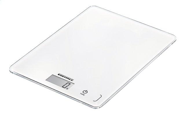 Soehnle Balance de cuisine numérique Page Compact 300 blanc
