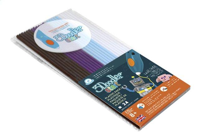 Image pour 3Doodler Start recharge brun, mauve, bleu et blanc à partir de ColliShop