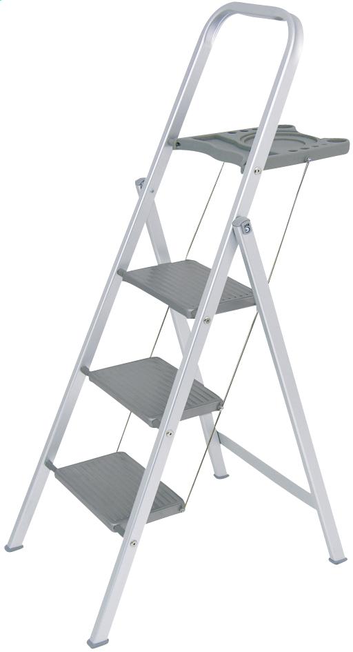 Afbeelding van Altrex aluminium trapladder Giant+ met 3 treden from ColliShop