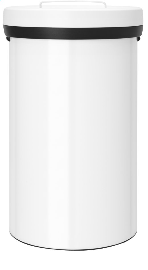 Afbeelding van Brabantia afvalemmer Big Bin 60 l wit from ColliShop