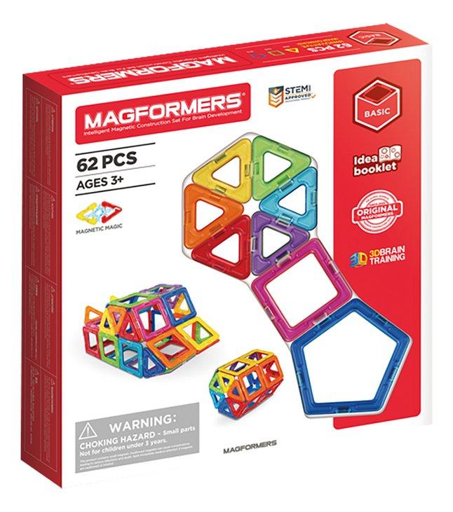 Afbeelding van Magformers Basic Set Line 62 stuks from ColliShop