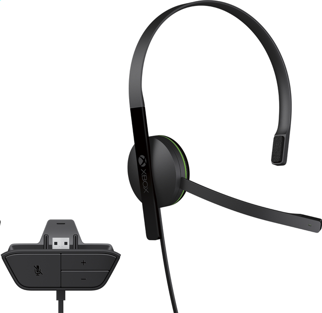 Afbeelding van Microsoft headset Chat Headset XBOX One from ColliShop