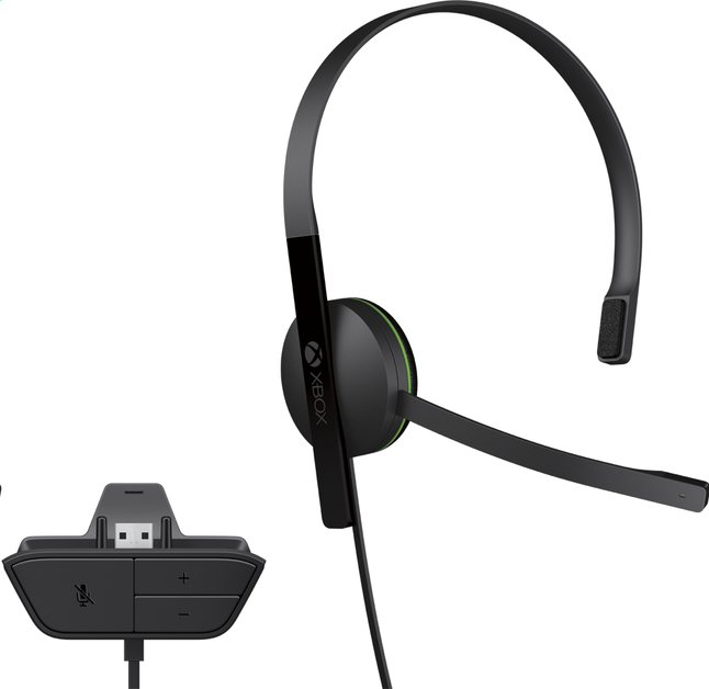 Image pour Microsoft casque Chat Headset XBOX One à partir de ColliShop