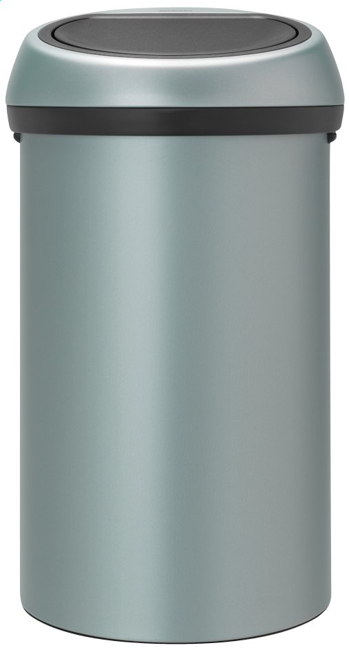 Afbeelding van Brabantia afvalemmer Touch Bin 60 l metallic mint from ColliShop