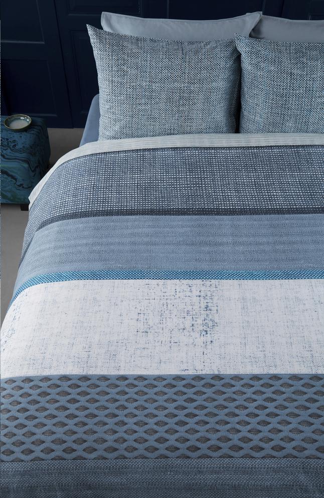 Afbeelding van Beddinghouse Dekbedovertrek Durness blue katoen 140 x 220 cm from ColliShop