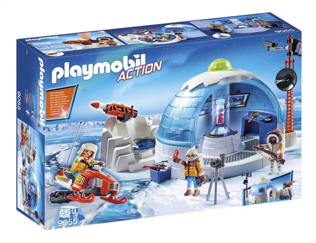 Afbeelding van Playmobil Action 9055 Hoofdkwartier Poolexpeditie from ColliShop