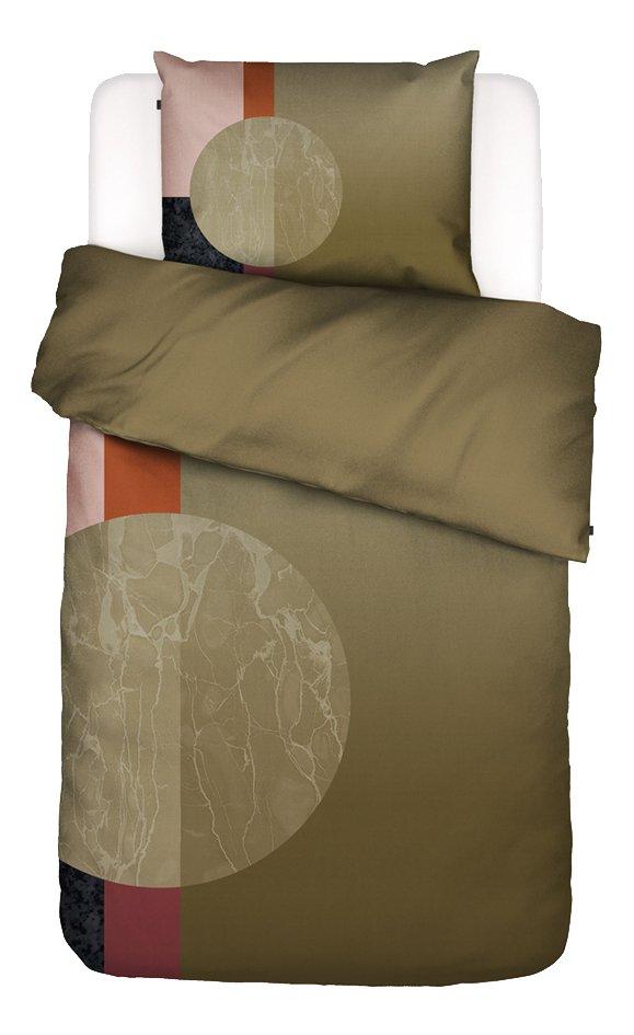Essenza Housse de couette Mulan multi coton brossé 140 x 220 cm