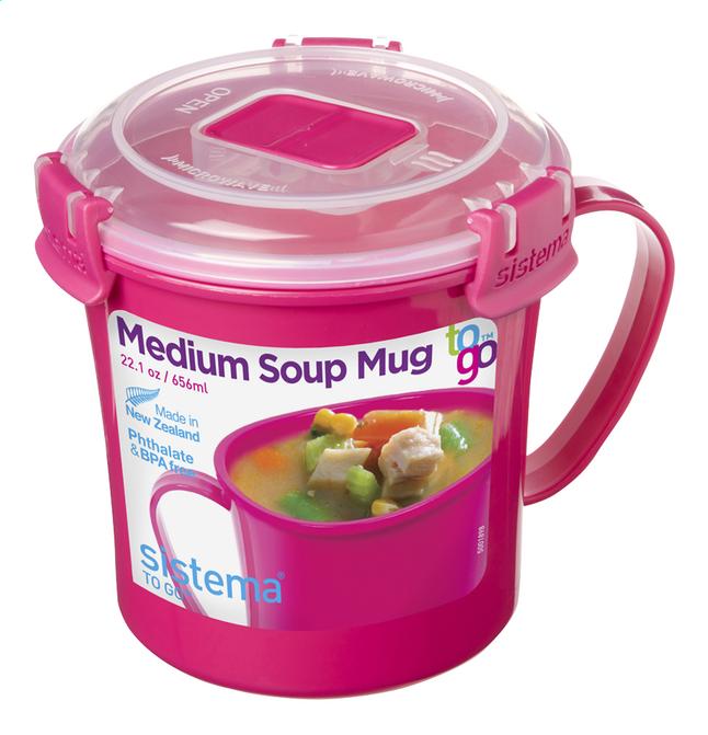 Sistema Soepbeker Microwave Colour Medium Soup 656 ml