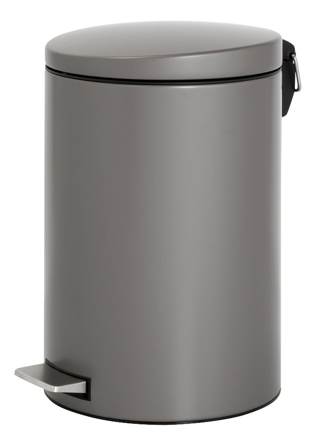Afbeelding van Brabantia pedaalemmer 20 l platinum from ColliShop