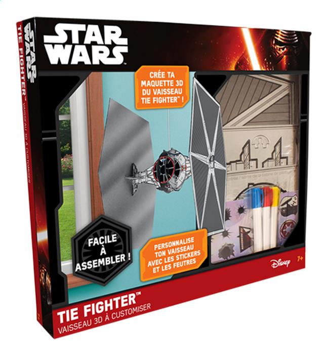 Image pour Lansay Star Wars Vaisseau 3D à customiser TIE Fighter à partir de ColliShop