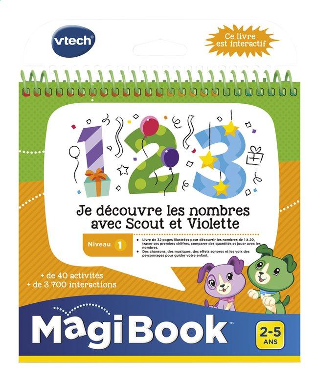 VTech MagiBook livre éducatif - Niveau 1 - Je découvre les nombres