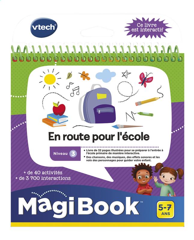 VTech MagiBook livre éducatif - Niveau 3 - En route pour l'école
