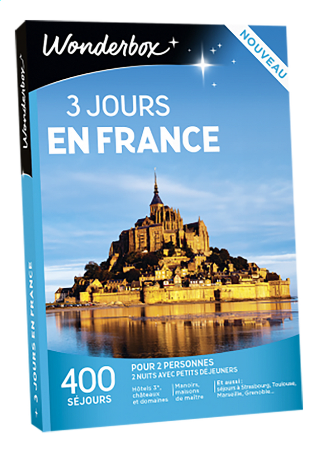 Image pour Wonderbox 3 jours en France à partir de ColliShop