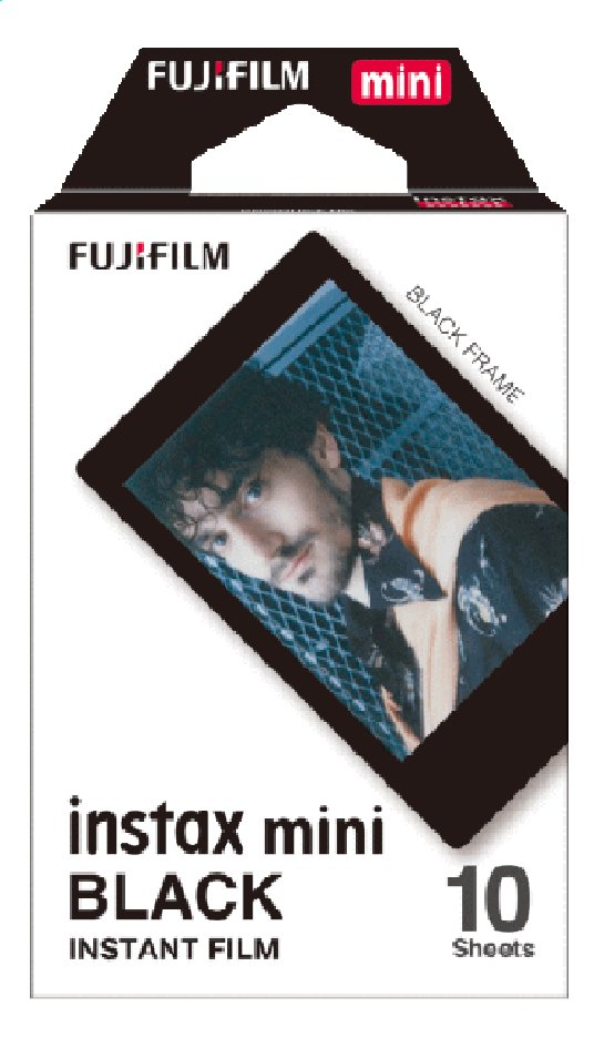 Image pour Fujifilm pack de 10 photos pour instax mini Black à partir de ColliShop