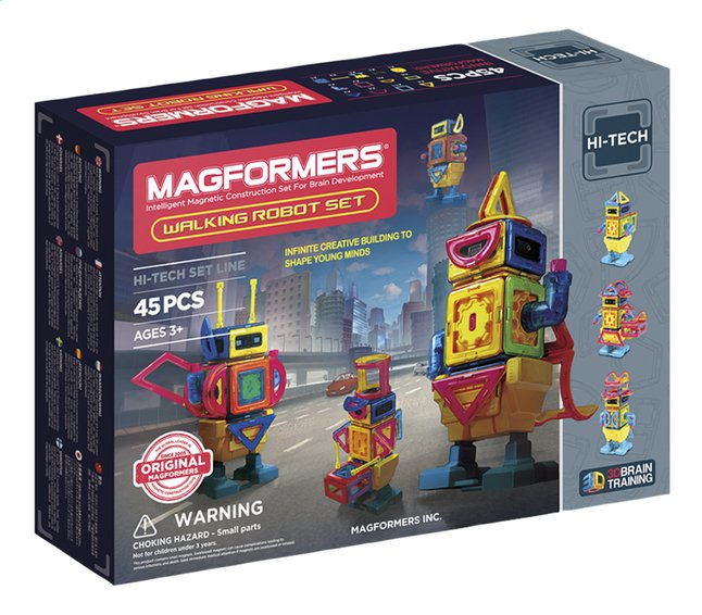 Afbeelding van Magformers Hi-Tech Walking Robot Set from ColliShop