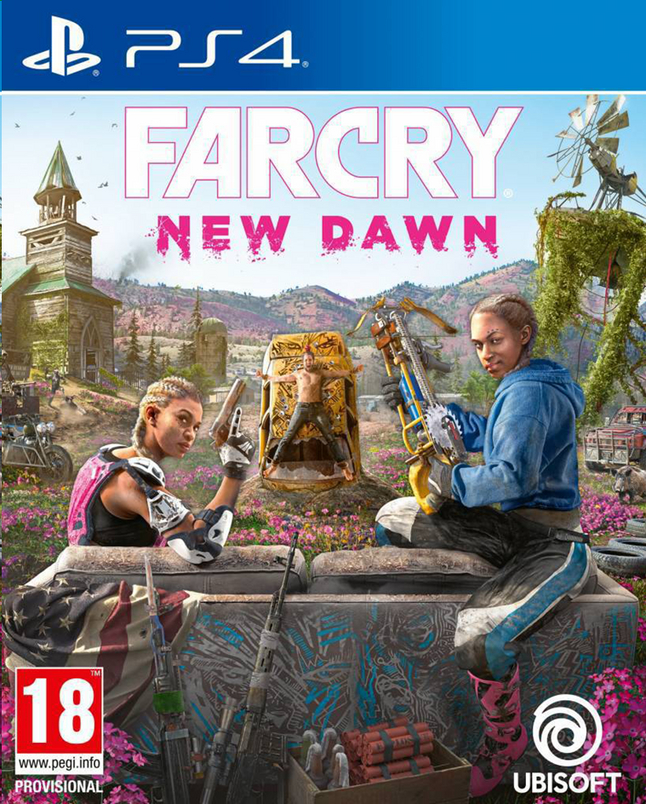 PS4 Far Cry New Dawn ENG/FR