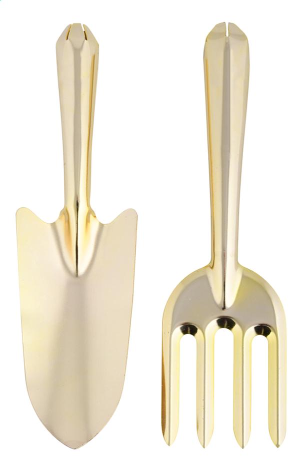 Esschert Design handtuingereedschap - goud
