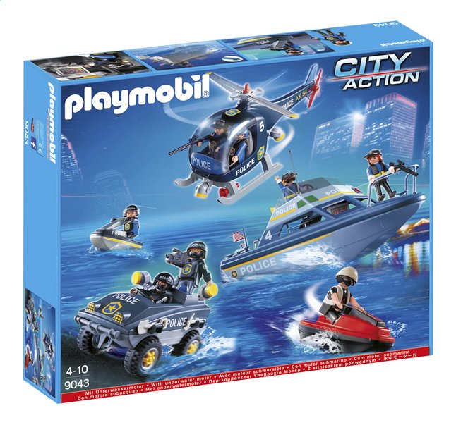 Image pour Playmobil City Action 9043 Le SWAT à partir de ColliShop