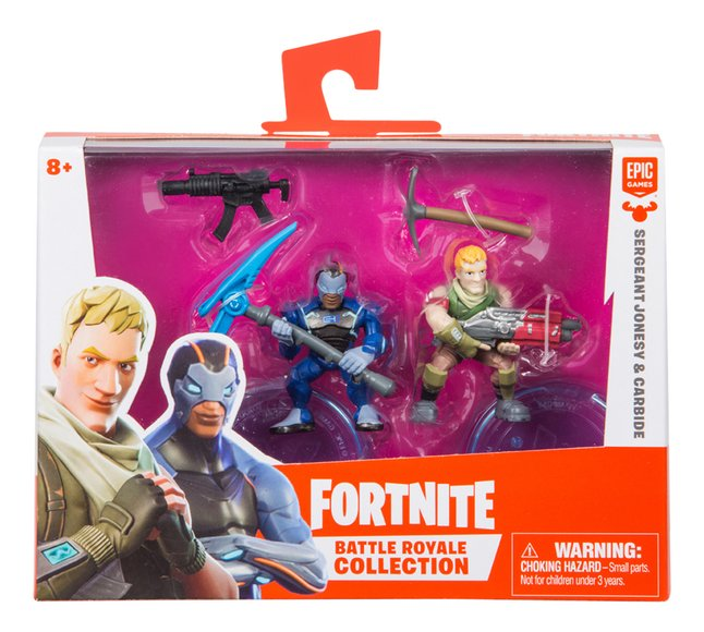 Afbeelding van Fortnite actiefiguur Battle Royale Collection Sergeant Jonesy & Carbide from ColliShop