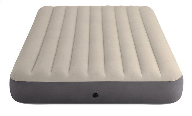 Afbeelding van Intex luchtmatras voor 2 personen Dura-Beam Plus Queen grijs/beige from ColliShop