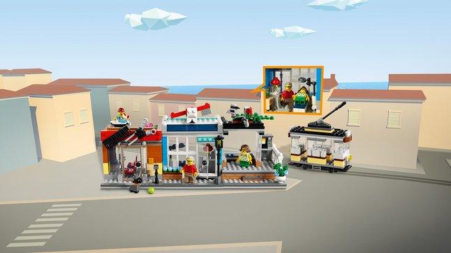 Wonderbaarlijk LEGO Creator 3-in-1 31097 Woonhuis, dierenwinkel & café - Koop nu AN-28