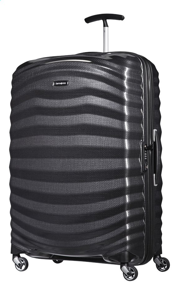 Image pour Samsonite Valise rigide Lite-Shock Spinner black 75 cm à partir de ColliShop