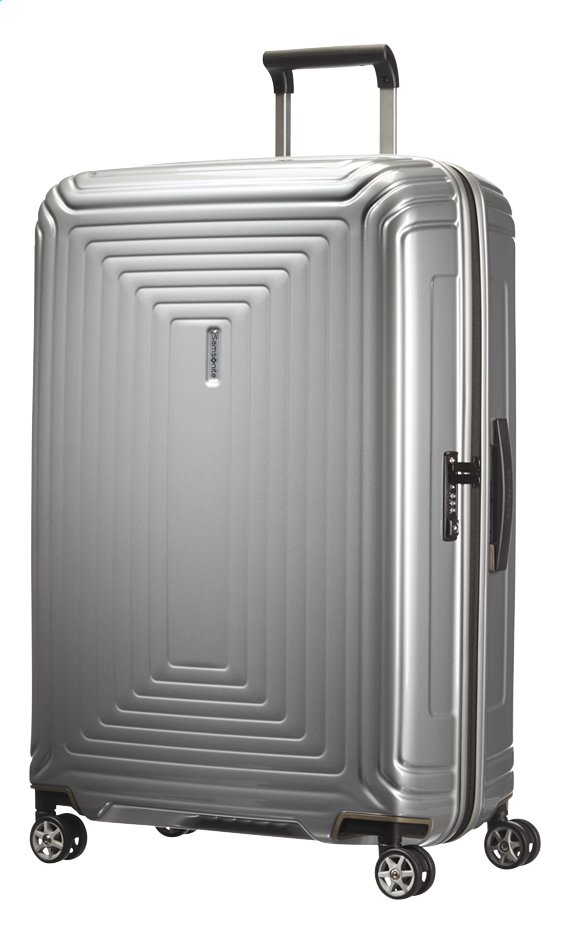 Image pour Samsonite Valise rigide Neopulse Spinner metallic silver 75 cm à partir de ColliShop