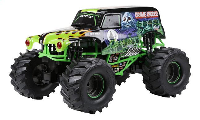 Image pour New Bright voiture RC Monster Jam Grave Digger à partir de ColliShop