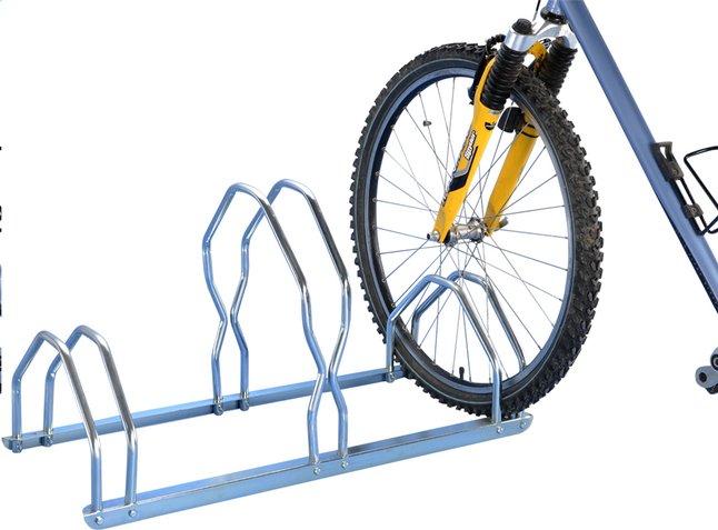 Image pour Mottez râtelier à vélos pour 3 vélos haut/bas à partir de ColliShop