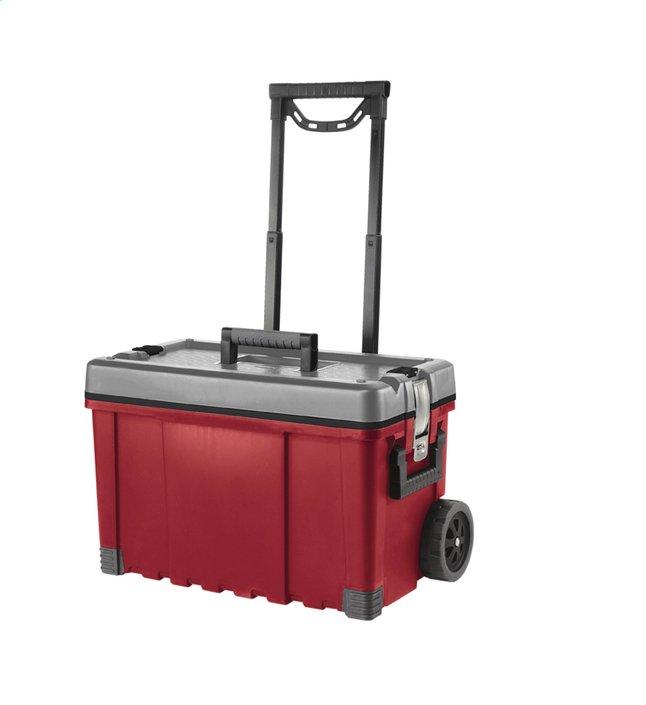 Afbeelding van Keter Gereedschapskoffer Hawk Cart rood 64 l from ColliShop