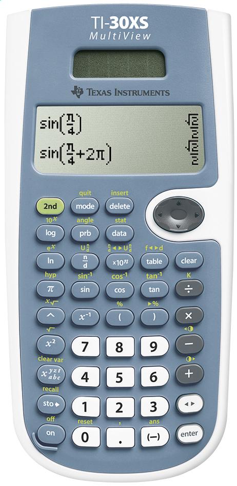 Image pour Texas Instruments calculatrice 30XS Multiview à partir de ColliShop