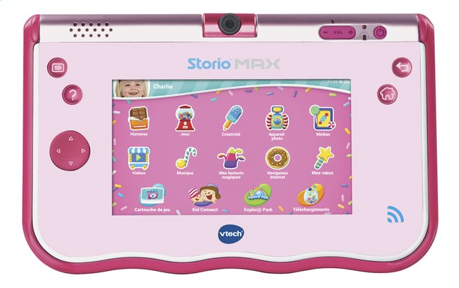Afbeelding van VTech Tablet Storio MAX rose FR from ColliShop